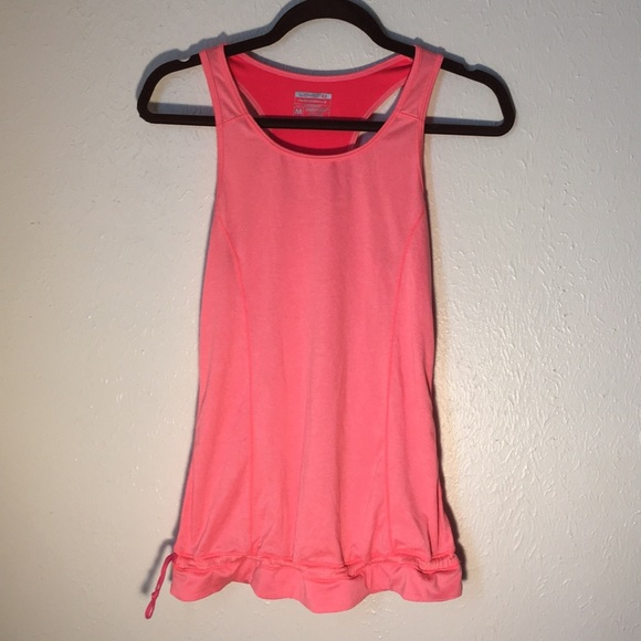 Layer 8 Tops - Layer 8 quick-dry tank top with cinch waist